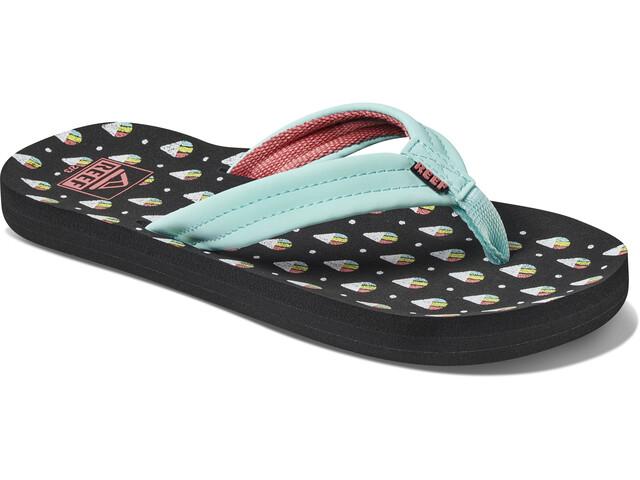 Reef Ahi Sandals Girls, snow cone